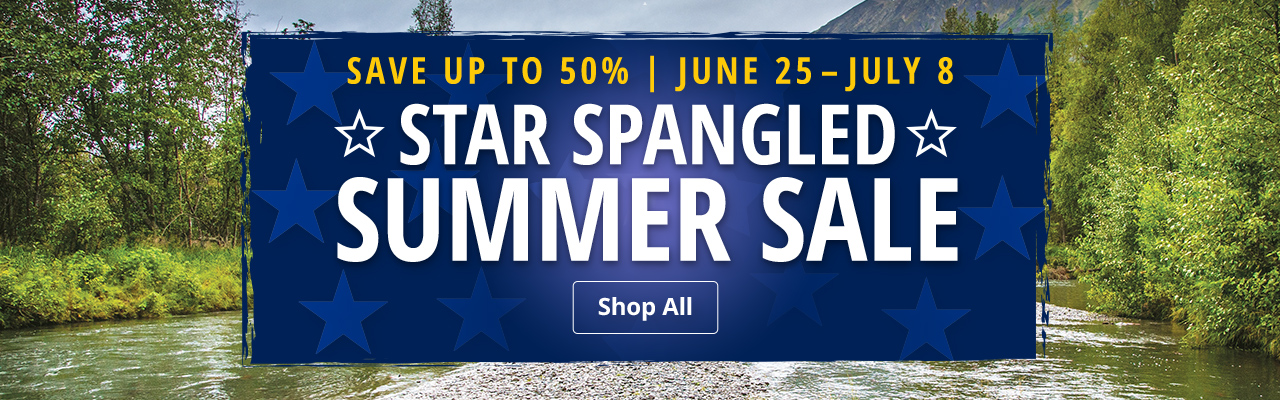 Star Spangled Summer Sale - Save up to 50%