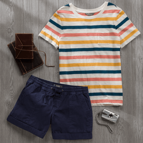 Striped Shirt look