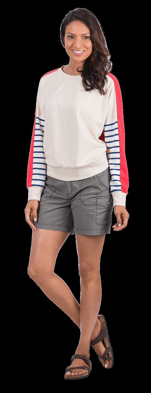 Colorblock Sweater look