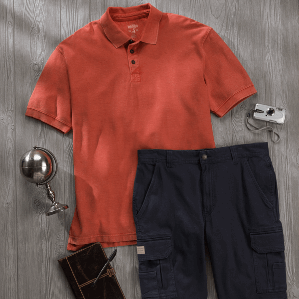 Classic Polo look