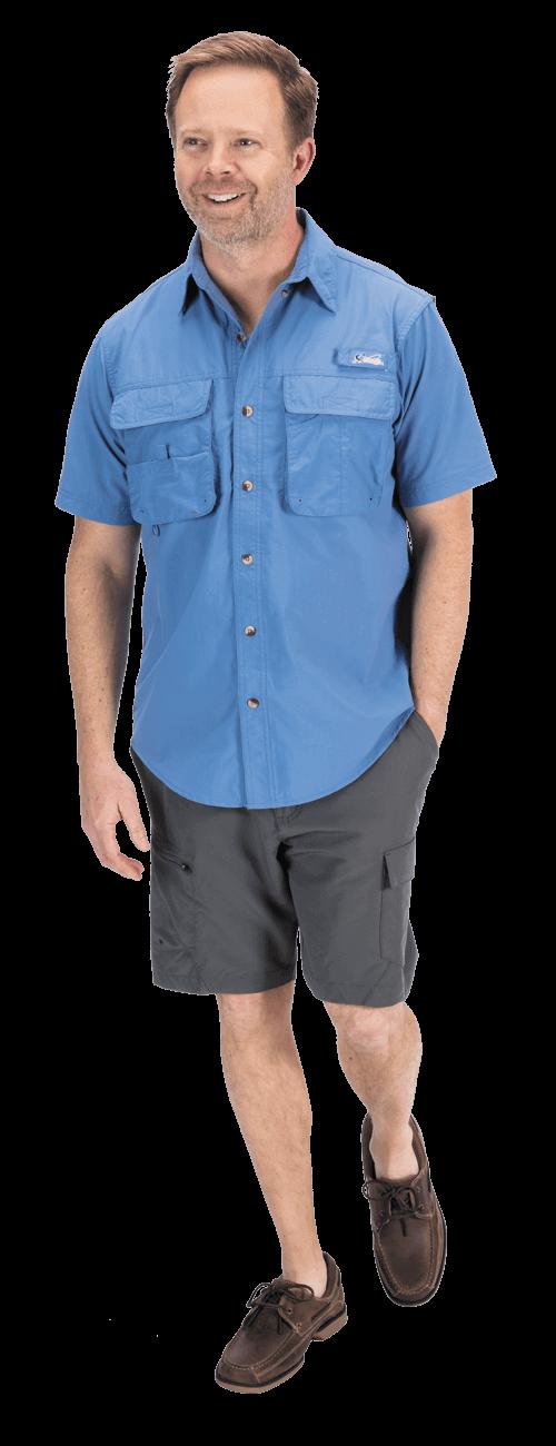 Nylon Angler Shirt look