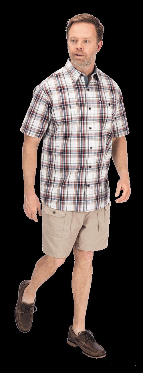 Madras Plaid Shirt look