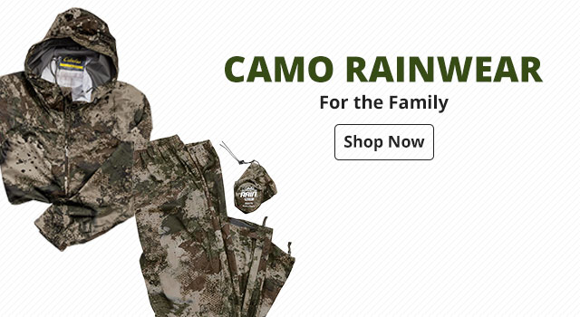 Camo Rainwear for the Family - Shop Now