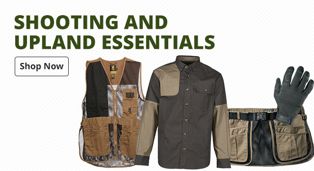 Shooting and Upland Essentials - Shop Now