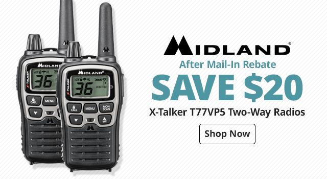 Midland® X-Talker T77VP5 Two-Way Radios