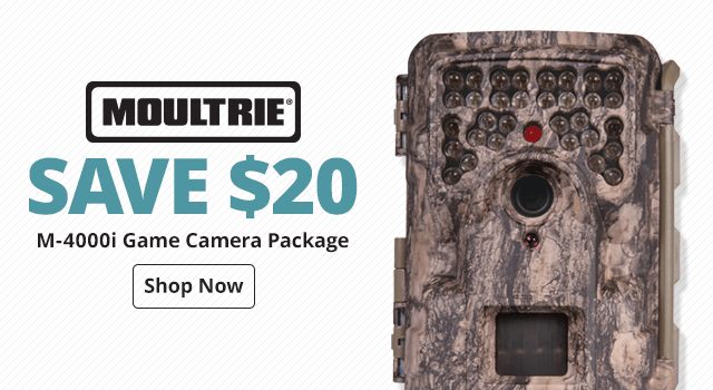 Moultrie® M-4000i Game Camera Package - Shop Now