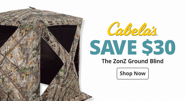 Cabela's® The Zonz Ground Blinds - Shop Now