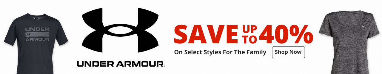 Save up to 40% On Select Under Armour Styles - Shop Now