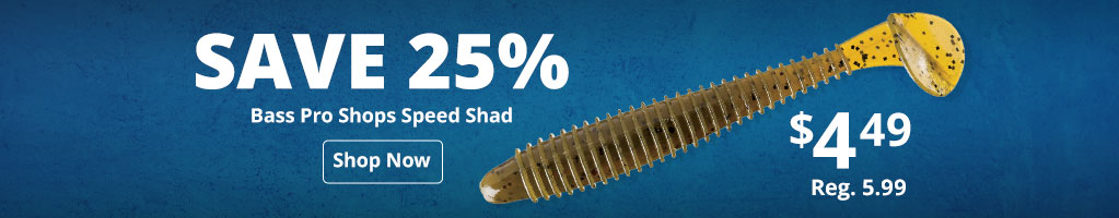 Bass Pro Shops Speed Shad
