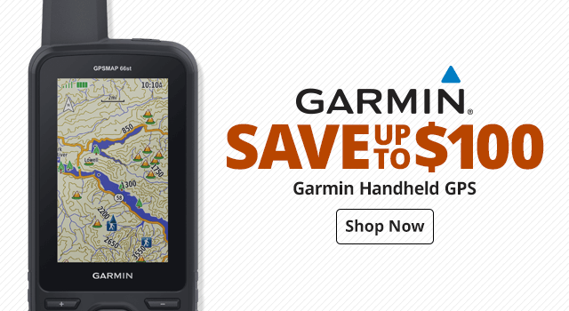 Garmin Handheald GPS - Shop Now