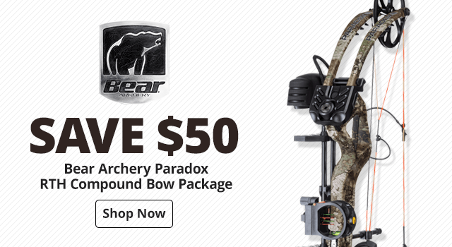 Bear Archery Paradox RTH Compound Bow Package