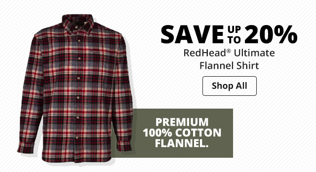 save up to 20% RedHead® Ultimate Flannel Shirt - Shop Now