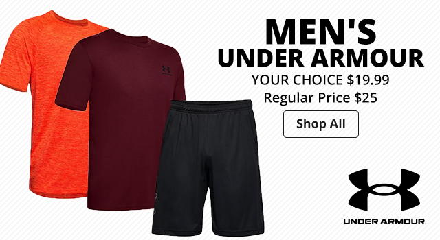 Men's Under Armour - Shop Now