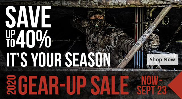 Gear Up Sale - Save up to 40%