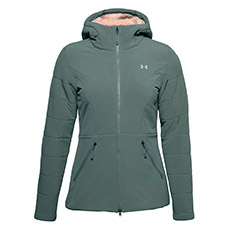 Under Armour Coldgear Latitude Quilted Hoodie