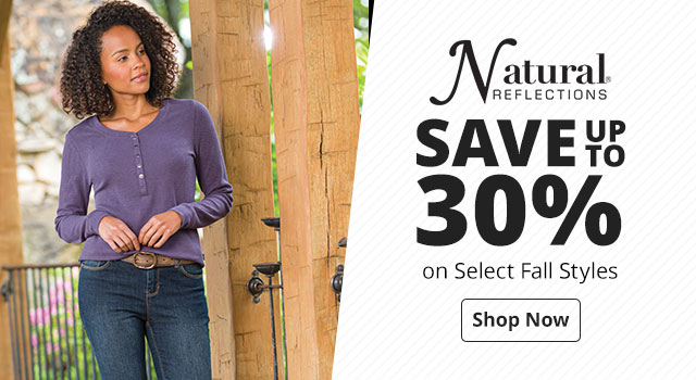 Save up to 30% on Select Women's Fall Styles