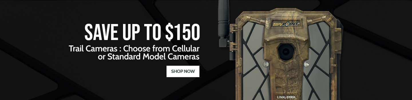 Trail Cameras : Choose from Cellular or Standard Model Cameras