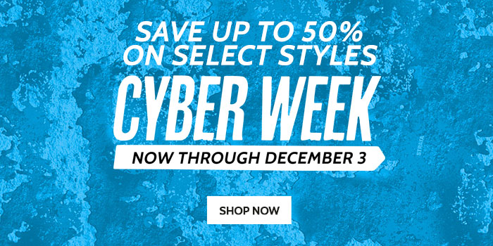 Save up to 50% - Cyber Week Deals