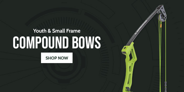 Youth & Small Frame Compound Bows