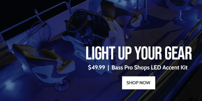 Light Up your Gear with Bass Pro Shops LED Accent Kit