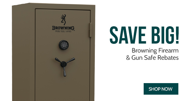 Browning Firearm & Gun Safe Rebates