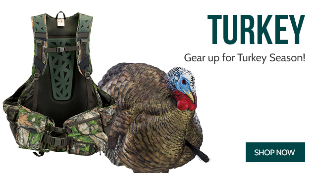 Spring Turkey - Gear up for Turkey Season!