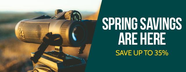 Spring Savings are here