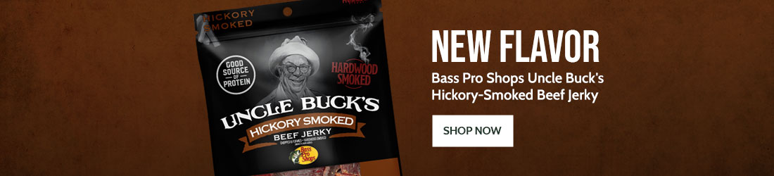 Bass Pro Shops Uncle Buck's Hickory-Smoked Beef Jerky