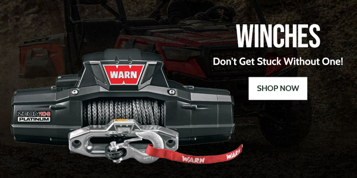 Winches - Don't get stuck without one!