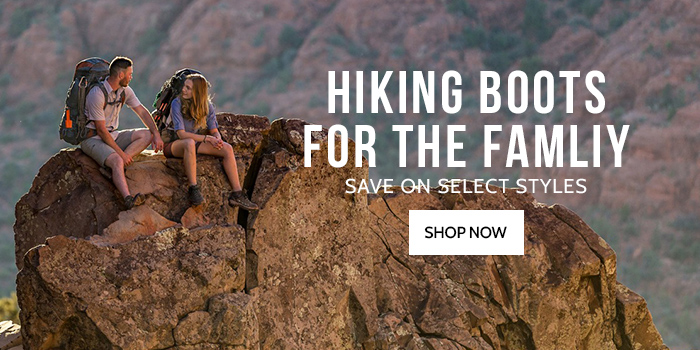Save up to 40% on Select Hiking Boots