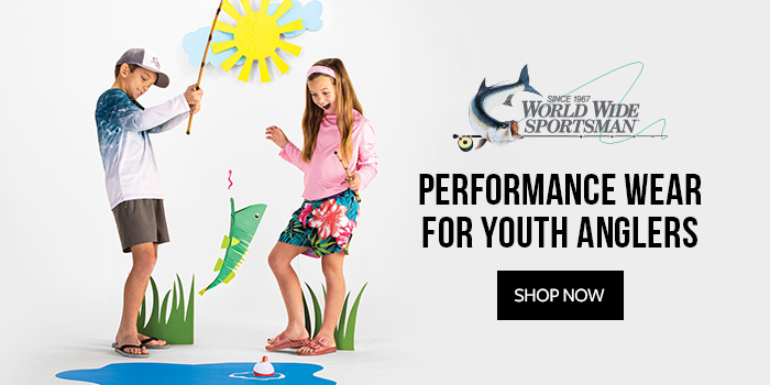World Wide Sportsman - Performance Wear for Youth Anglers
