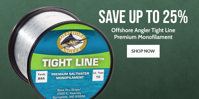 Offshore Angler Tight Ling Premium Monofilament
