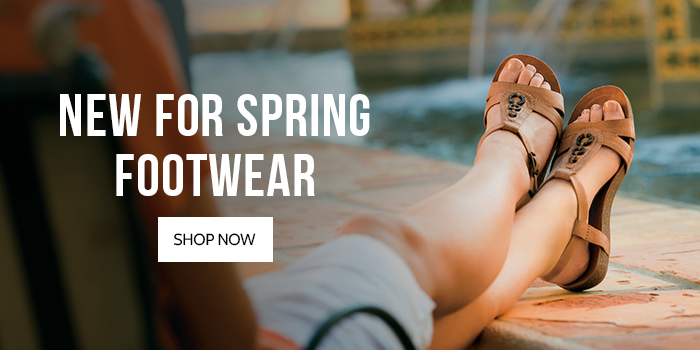 New for Spring Footwear