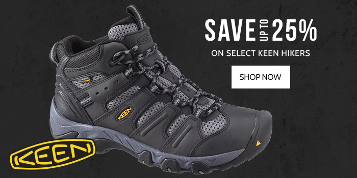 Save up to 25% on select KEEN Hikers