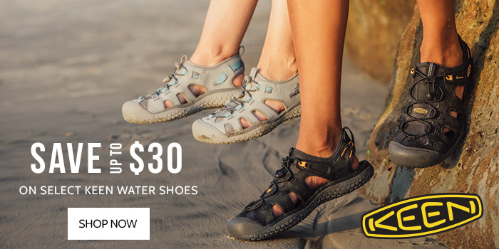 Save up to $30 on select KEEN Water shoes