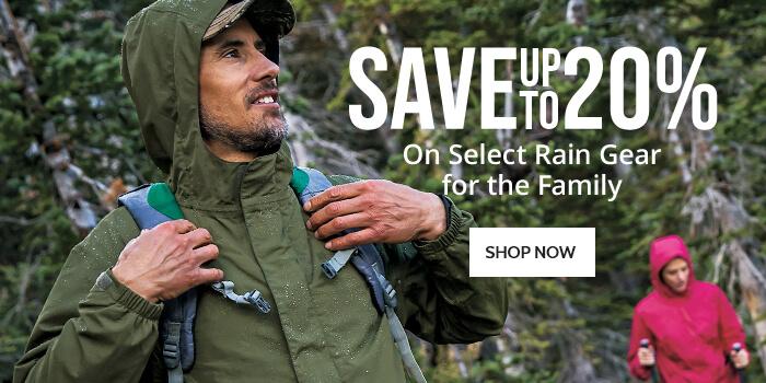 Save on Rain Gear - Shop Now