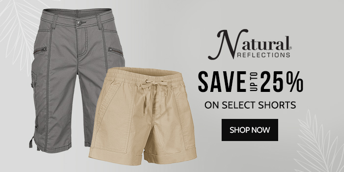 Save up to 25% on Select Shorts