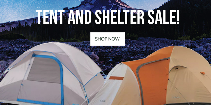 Tent and Shelter Sale