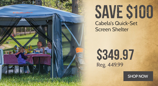 Cabela's Quick-Set Screen Shelter