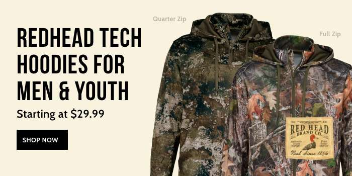 RedHead Tech Hoodies for Men and Youth