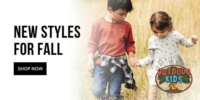 Outdoor Kids' New Styles for Fall