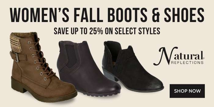 Natural Reflectons Women's Fall Boots & Shoes