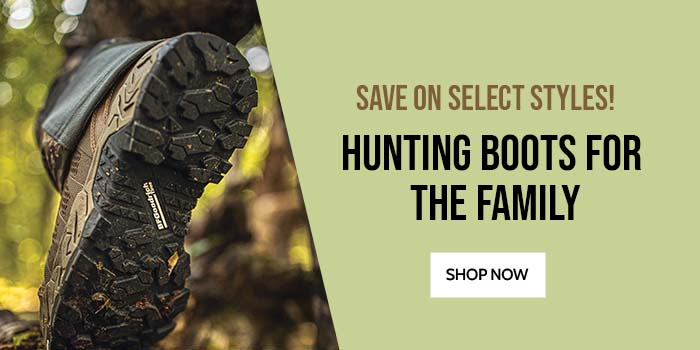 Hunting Boots for the Family