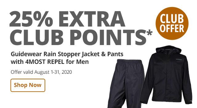 CLUB 25% Rain Stopper - Shop Now