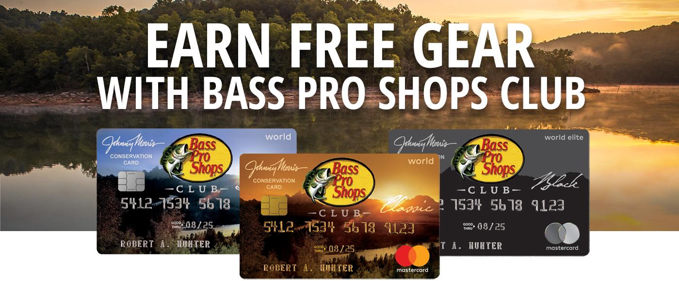 Bass Pro Shops CLUB Card Bass Pro Shops