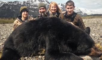ALASKA COASTAL BLACK BEAR