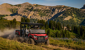 THE TRACKER OFF ROAD EXPERIENCE
