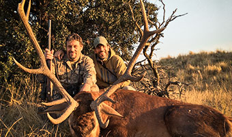 ARGENTINA RED STAG AND BLACKBUCK
