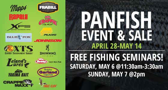Panfish Sale