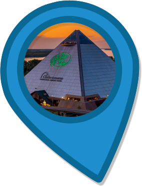 Memphis Pyramid, TN